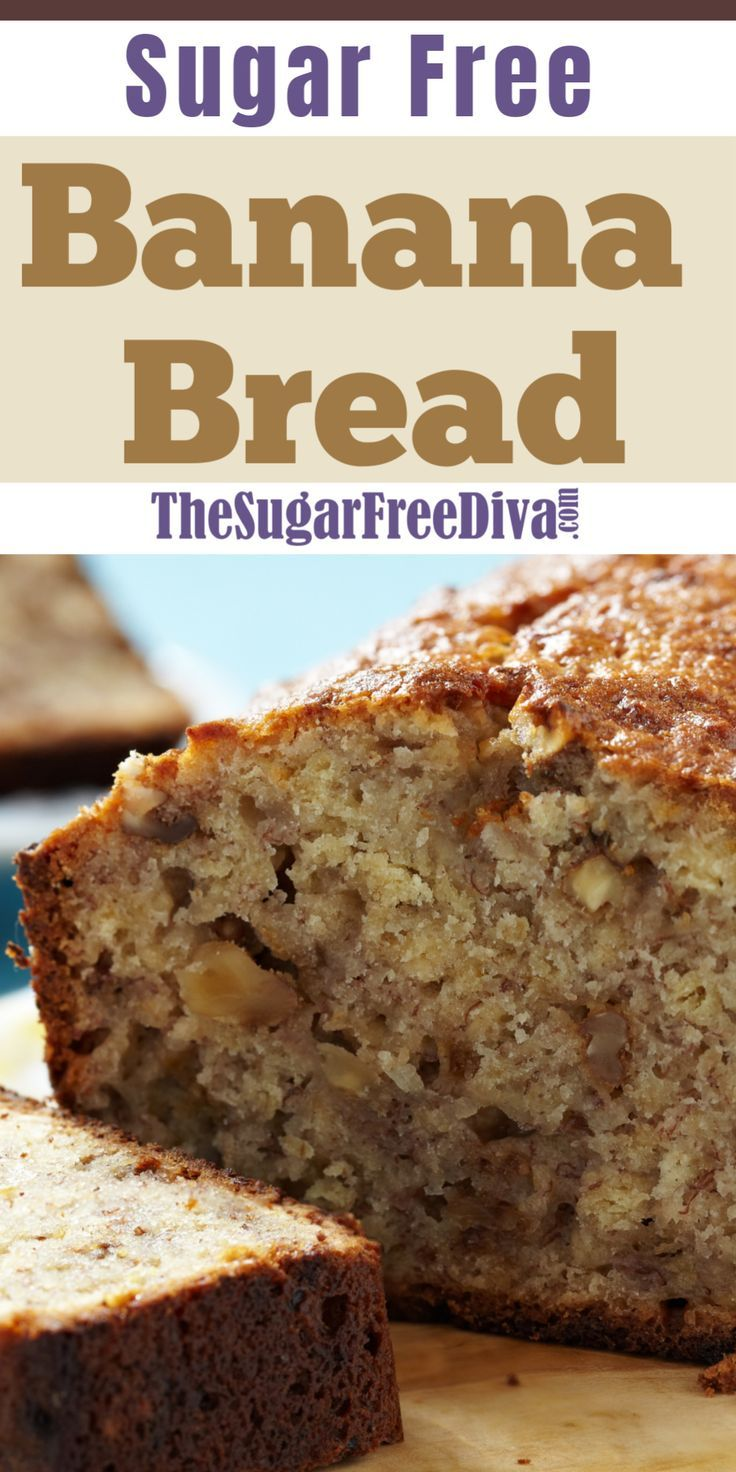 So Good! Sugar Free Banana Bread!