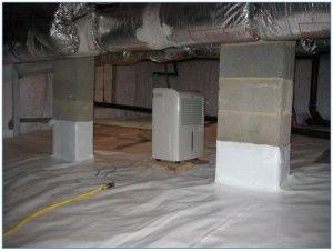 Crawl Space Encapsulation Vapor Barriers For Your Next Job Americover Diy Crawlspace Crawl Space Encapsulation Crawlspace