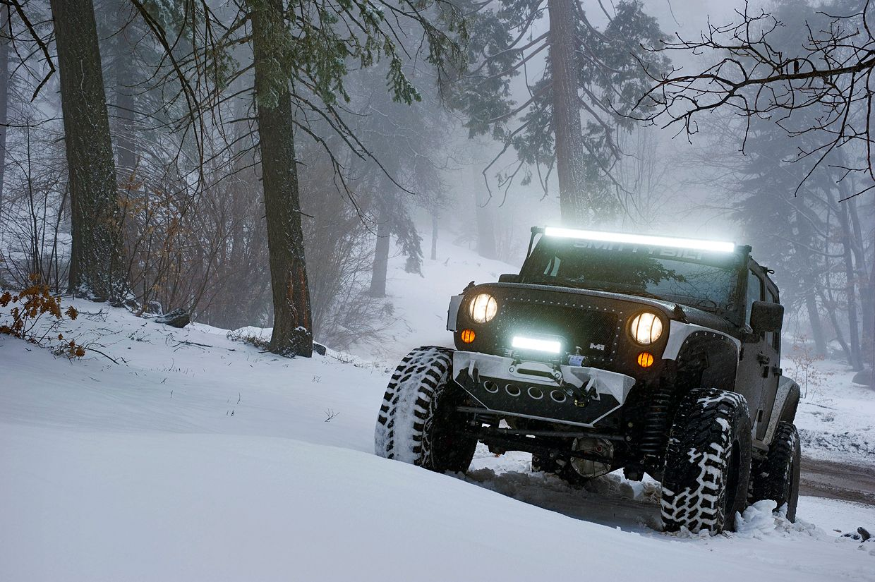 Dealing with Bad Winter Weather in your Jeep Jeep
