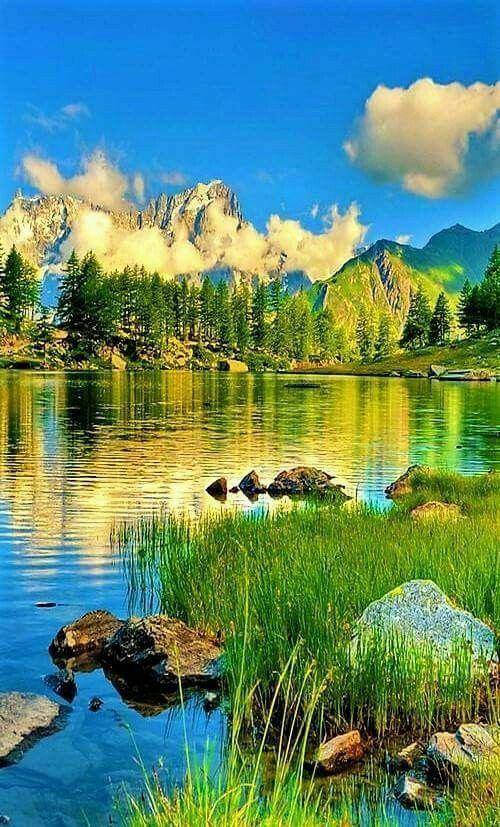 Pin de Olga Ольга em пейзажи | Lindas paisagens, Natureza ...