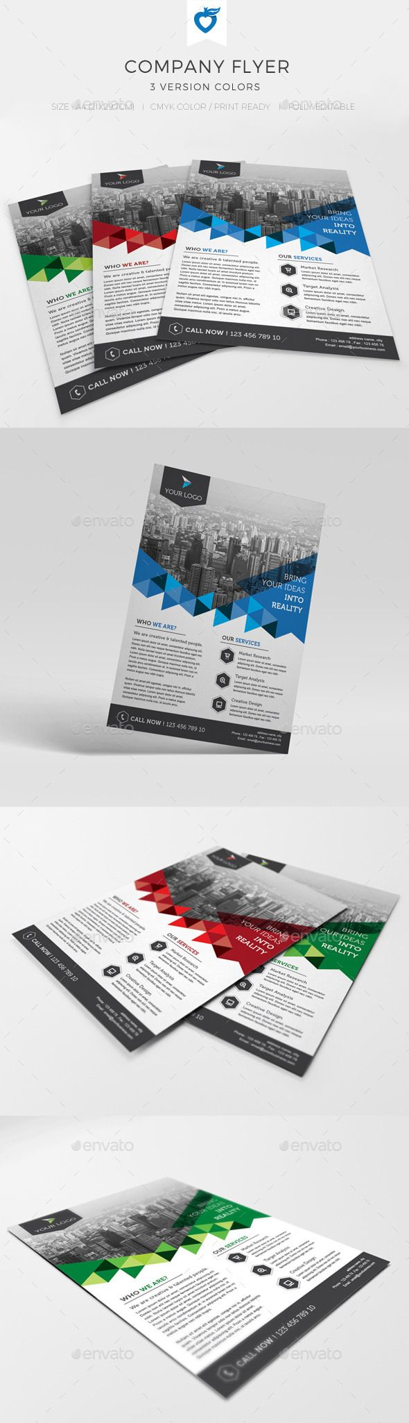 Company flyer flyer template template and business flyers company flyer corporate flyers flashek Gallery
