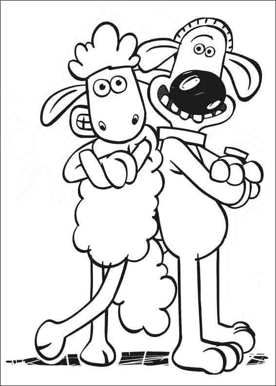 Shaun The Sheep Coloring Pages 2 Coloring Books Sheep Drawing Shaun The Sheep