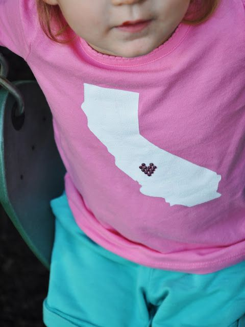 I heart my state Tshirt tutorial