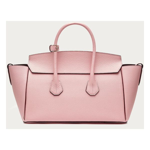 Bally SOMMET MEDIUM Women's medium dusty pink leather tote bag ...