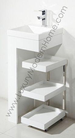 modern pedestal sink pedestal sink