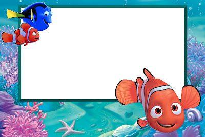 Free Finding Nemo Printables Buscando A Nemo