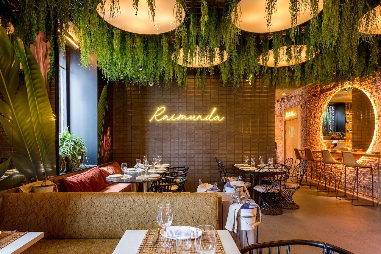 Raimunda Un Restaurante De Palacio Restaurantes Diseño