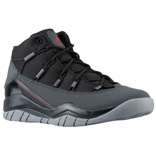 Jordan Prime Flight - Boys' Grade School - Basketball - Shoes - Cool Grey/