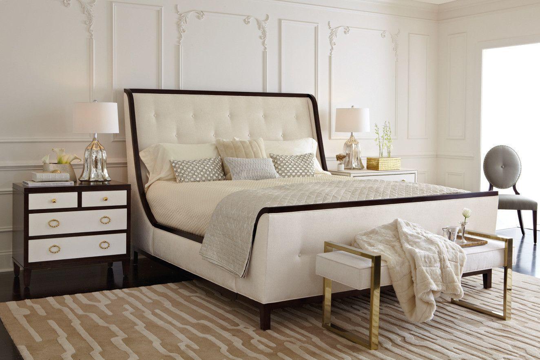 Jet Set Upholstered Queen Bed - Bernhardt Furniture