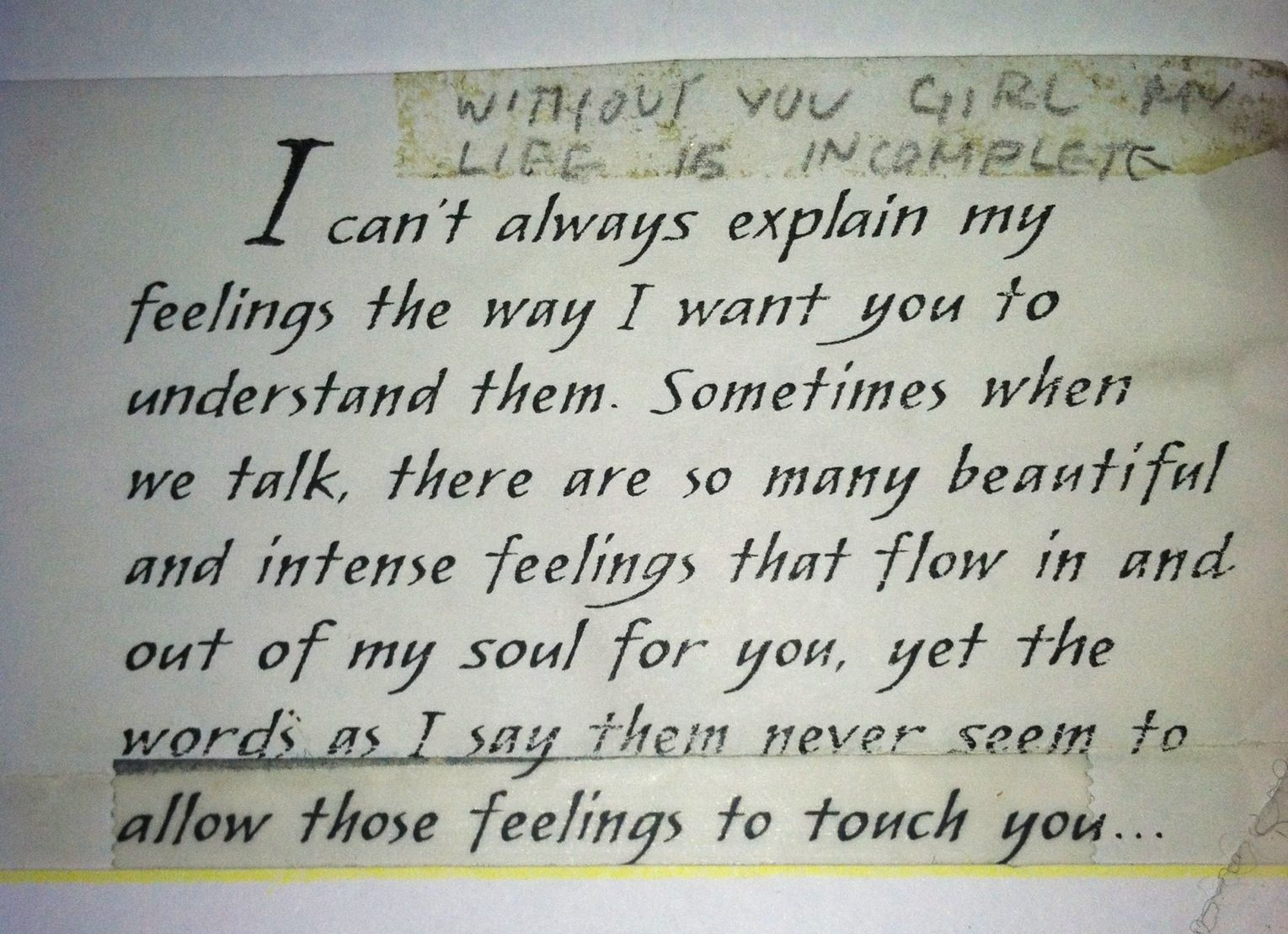 Elizabeths Love Letter .Part 1 | Valentines day quotes