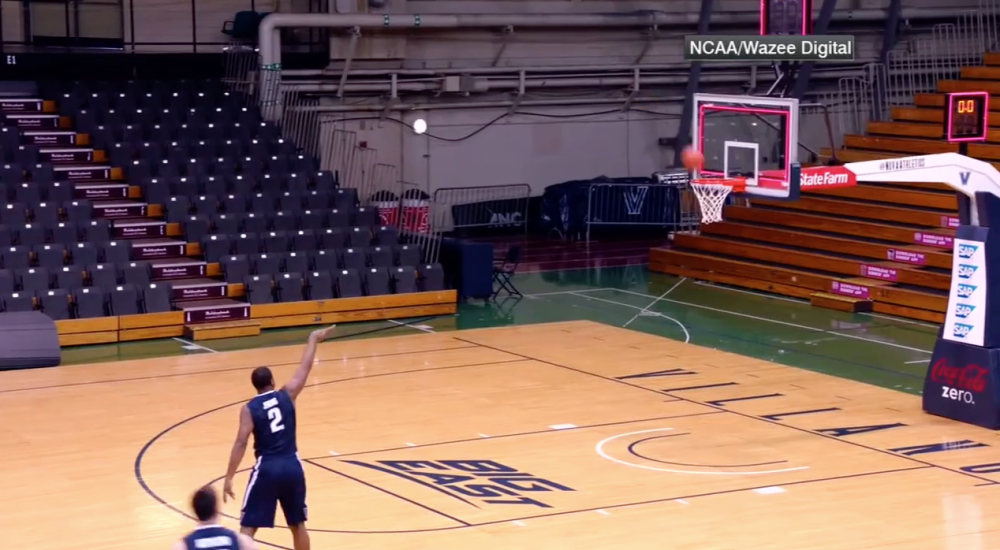 Villanova recreated Kris Jenkins' tournament-winning shot 11 times ? and made seven
