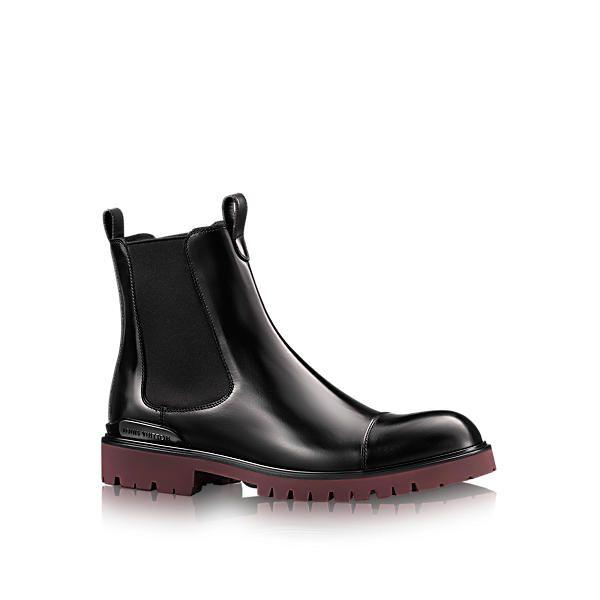 Louis Vuitton Officer Chelsea Boot