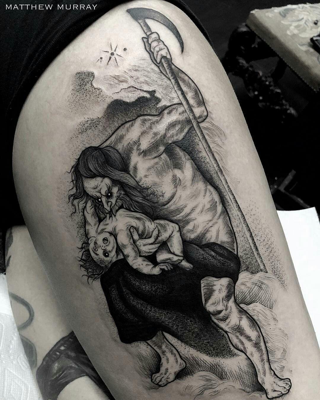 Pin On Blackwork Tattoo