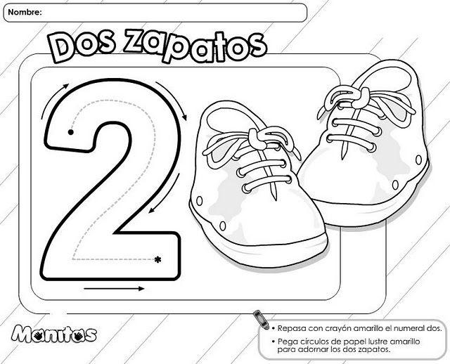 Fichas De Infantil Para Trabajar Los Números Fichas De
