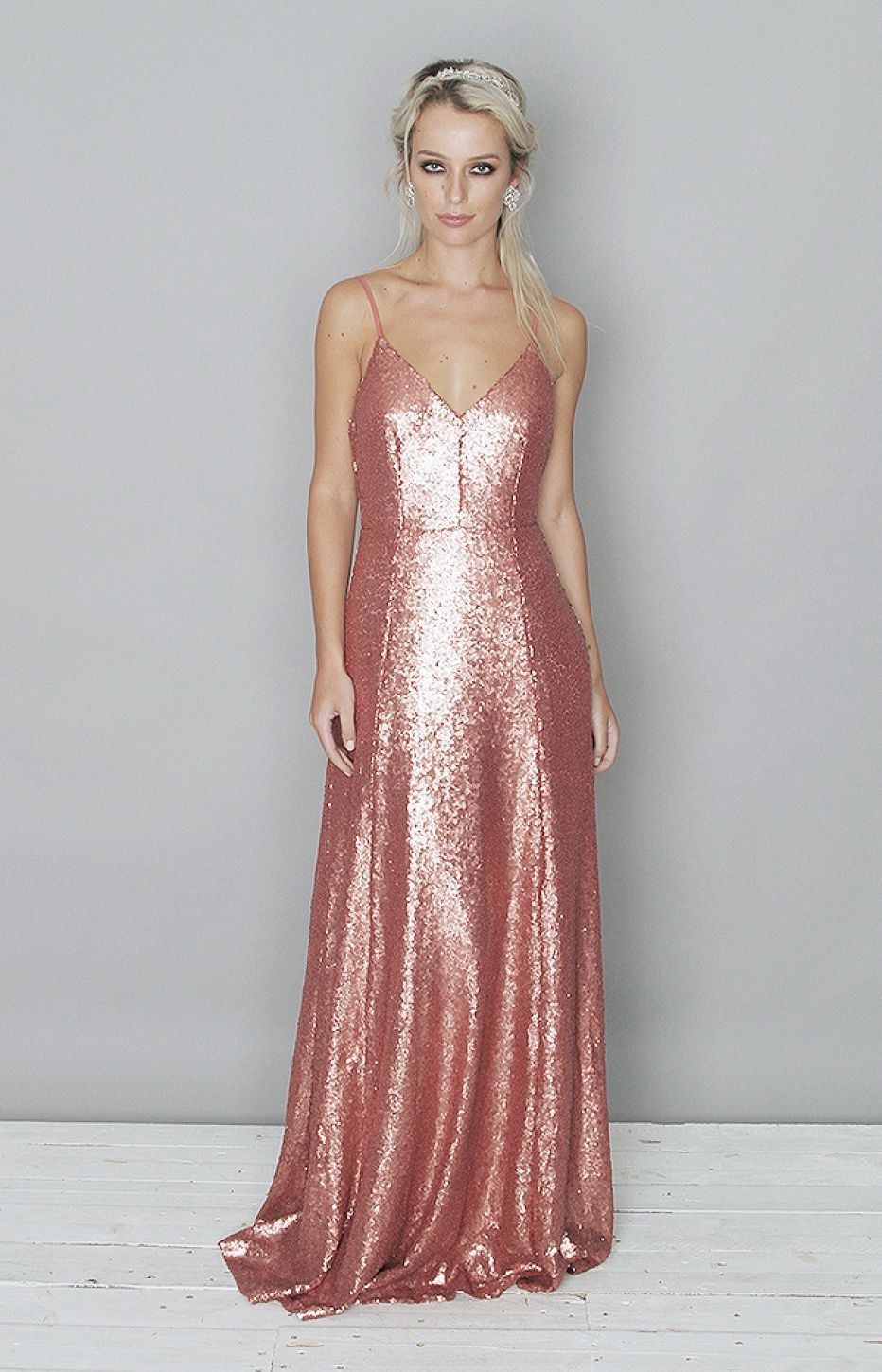 Beth gown rose vestidos gawns pinterest gowns vestidos and