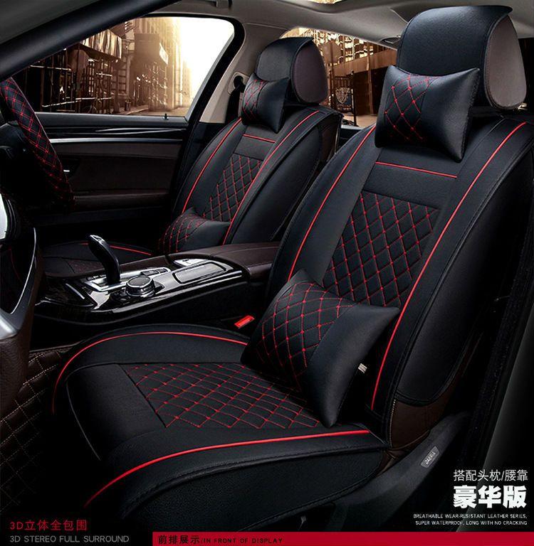 Car Seat Cushion Auto Seats Covers Pu For Ferrari Gmc Savana Jaguar Smart Lamborghini Murcielago Gallardo R