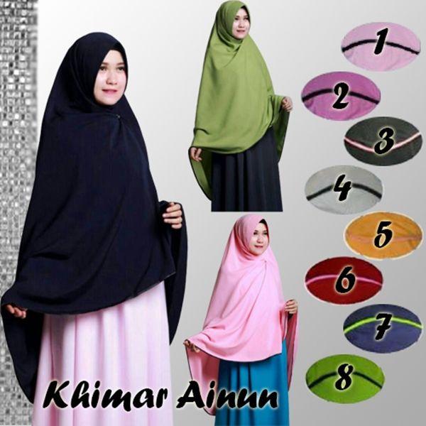 Hijab Instan Khimar Pet – Tutorial Hijab Terbaru