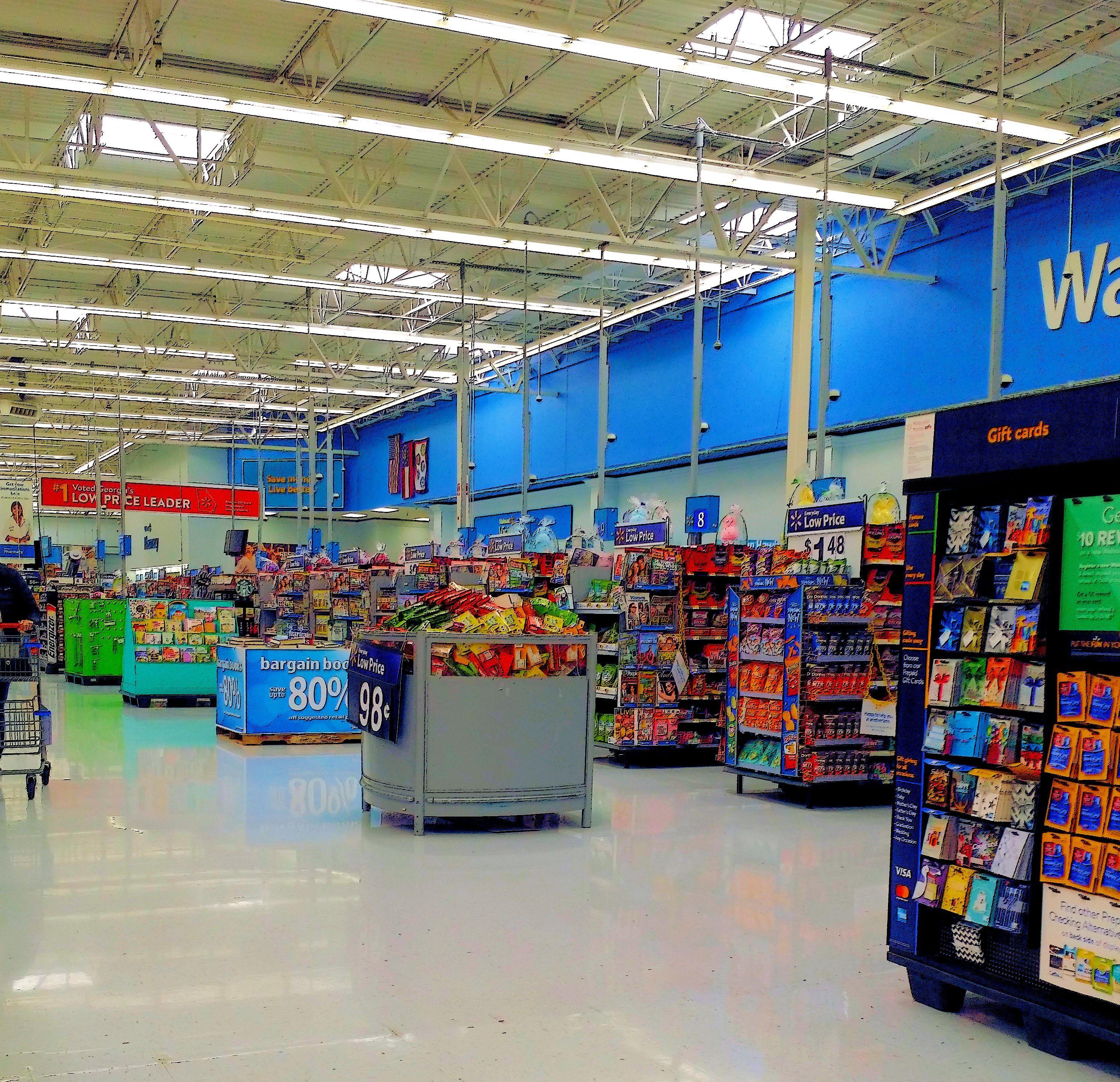 Walmart Store Interior Mar 2018 Store Interior Walmart Store