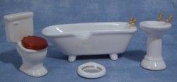 KH001 Kylpyhuone, valkoinen