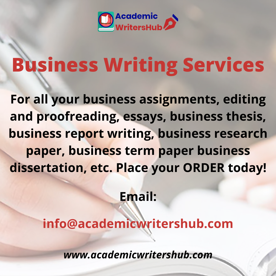 Busines Writing Service In 2021 Report Affordable Dissertation Editing