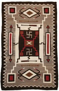 navajo rug patterns. Contemporary Patterns Navajo Crystal Storm Pattern With Whirling Logs Waterbug And Arrow  Motifs C 1920 Throughout Rug Patterns