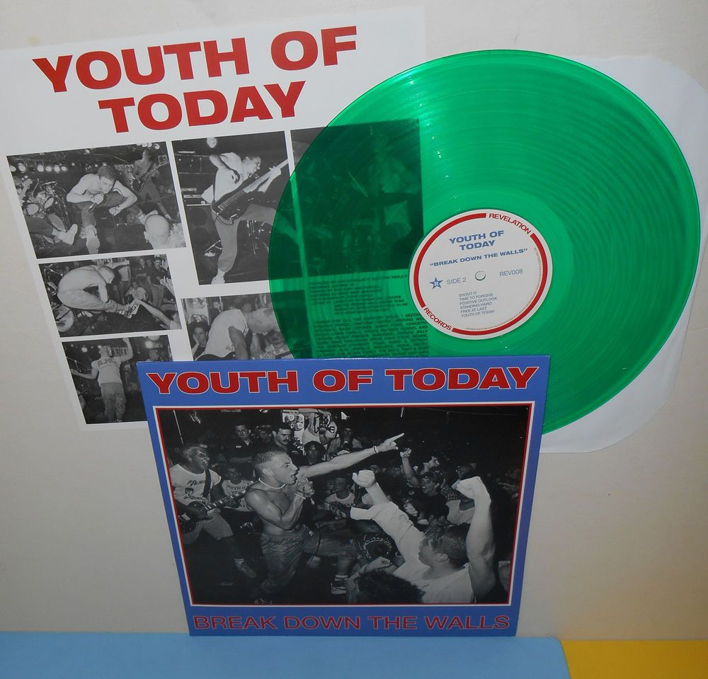 Daily Limit Exceeded Youth Of Today Vinyl Records Records