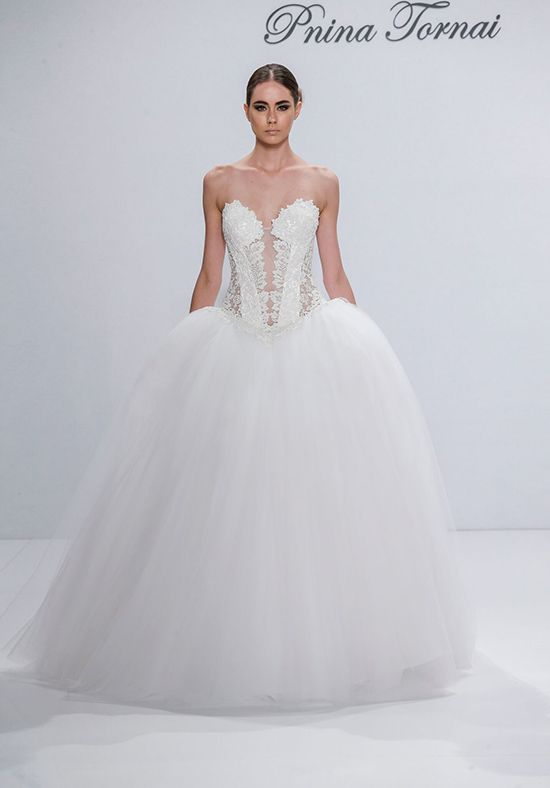 Pnina Tornai for Kleinfeld 4545 Ball Gown Wedding Dress | Weddings ...