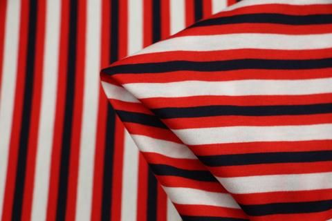 59829437faf Red White & Blue Knitted Jersey - Knit - Tessuti Fabrics - Online Fabric  Store - Cotton, Linen, Silk, Bridal & more