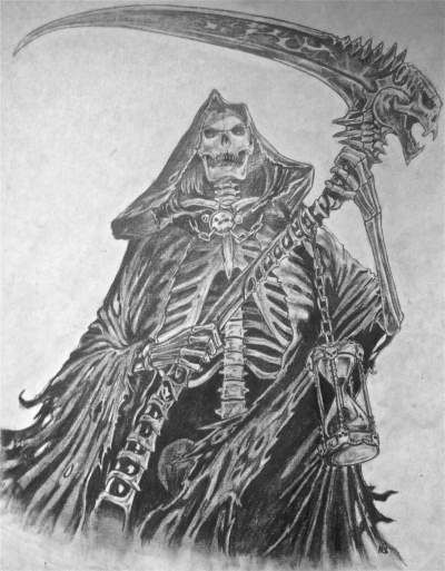 Grim Reaper Hood Drawing In Pencil Grim Reaper Drawings In Pencil