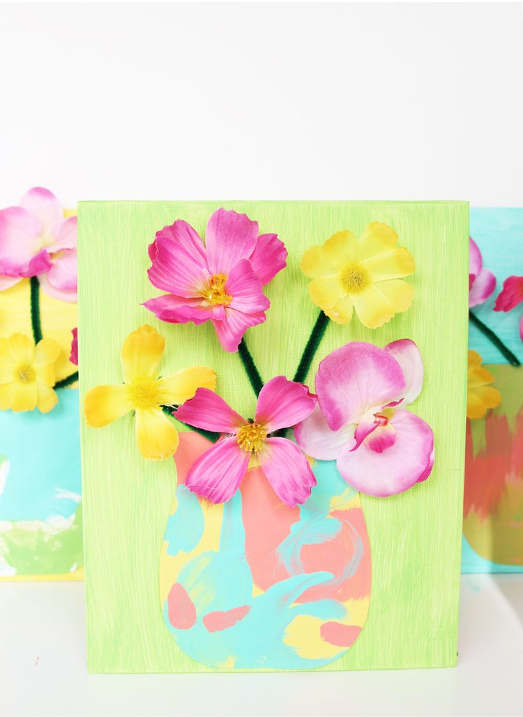 Fake flower craft for kids a senior activity ideas pinterest this fake flower craft idea is a perfect mothers day craft grab some materials from the dollar store and make this spring craft today mightylinksfo