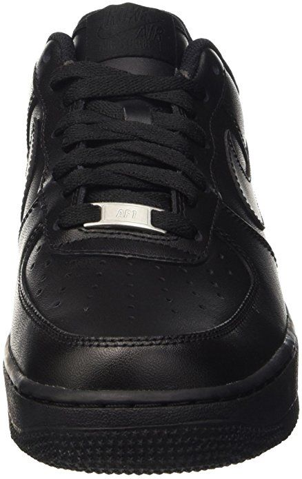 Amazon.com | Nike Women's Air Force 1 '07 Black/Black Basketball Shoe 6 Women US | Fashion Sneakers