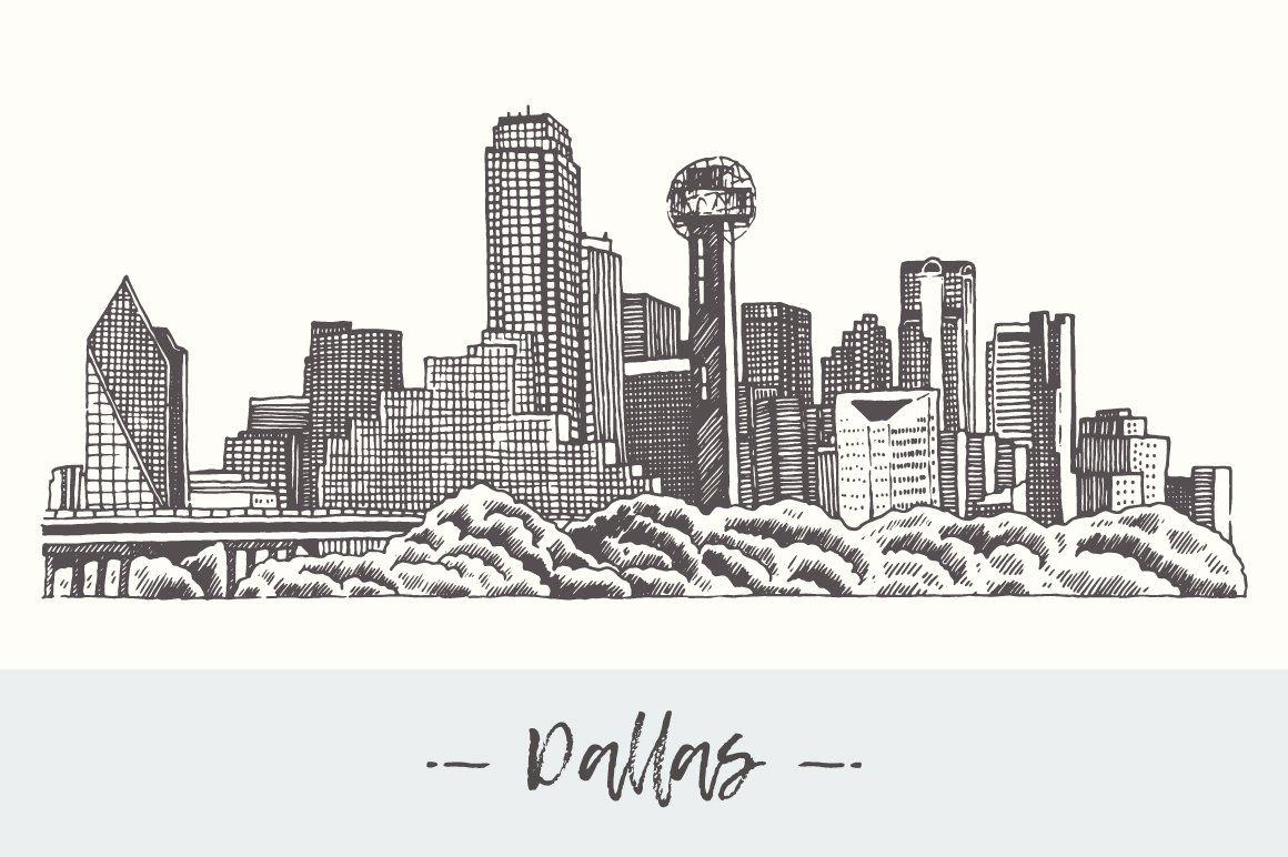Dallas skyline, USA in 2020 (With images) Dallas skyline