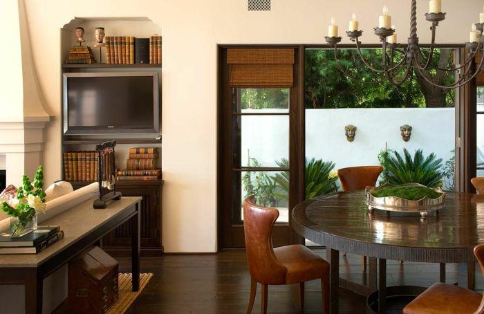 Intérieur classic et très chic à l aide de meuble colonial