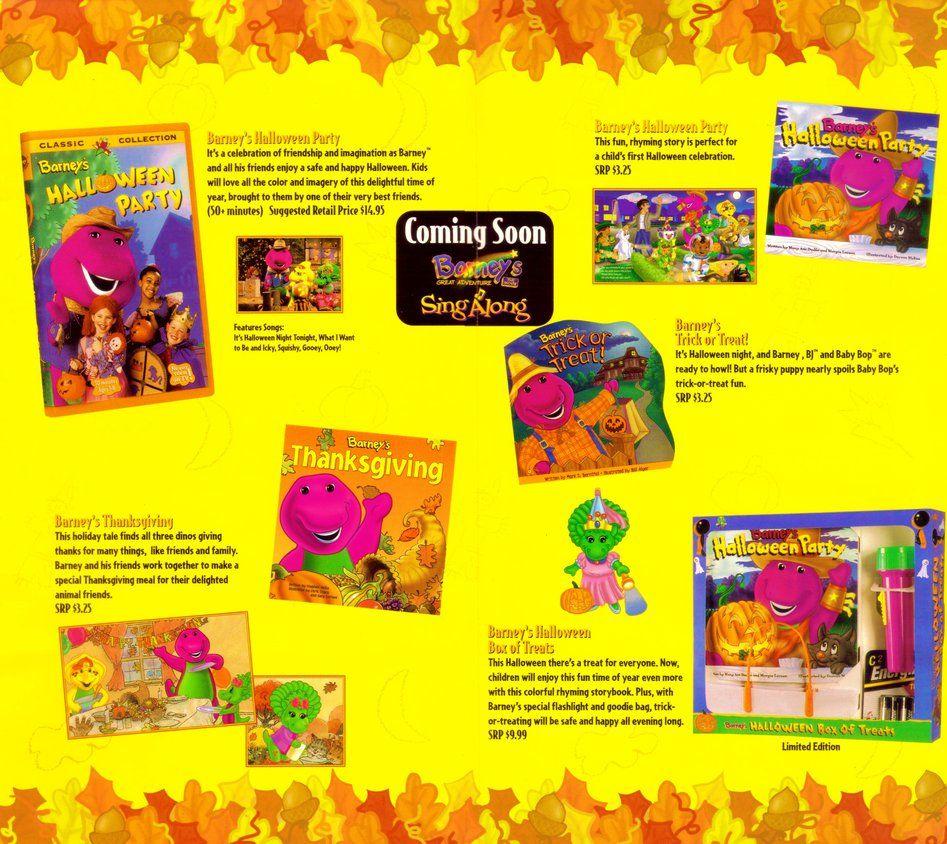 Fun Barney Halloween Products by BestBarneyFan