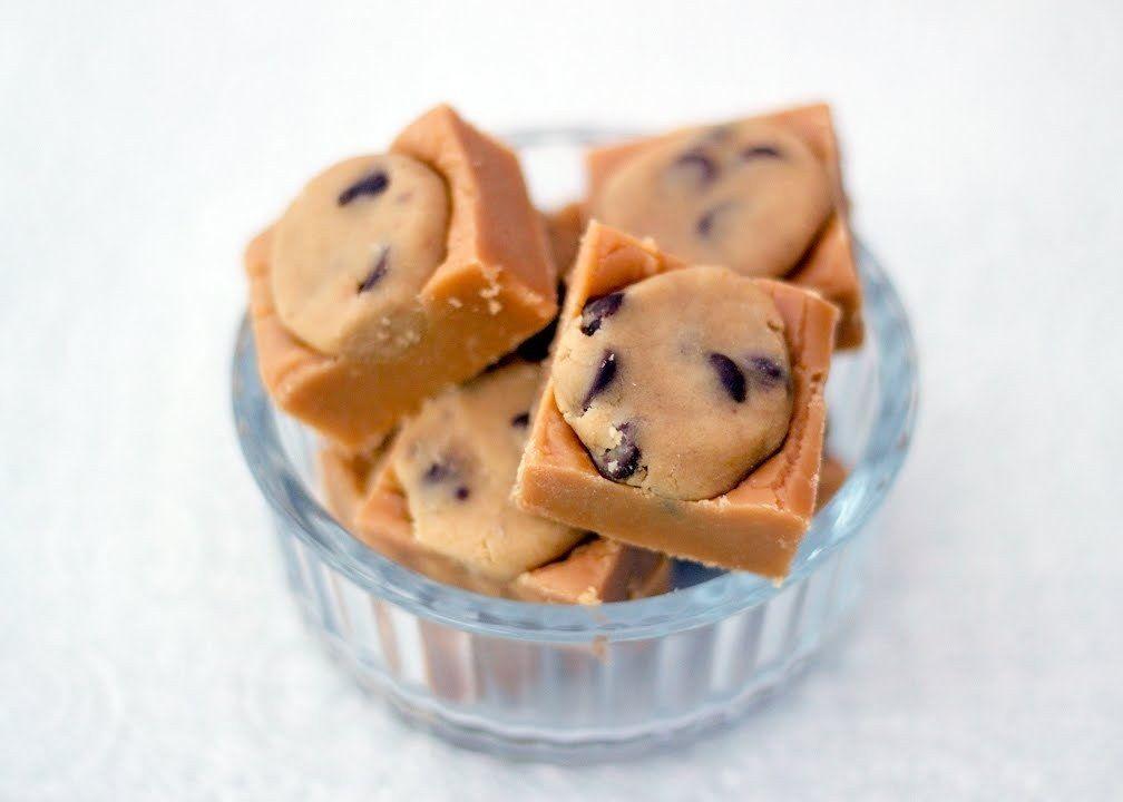Cookie Dough Fudge #howto #tutorial