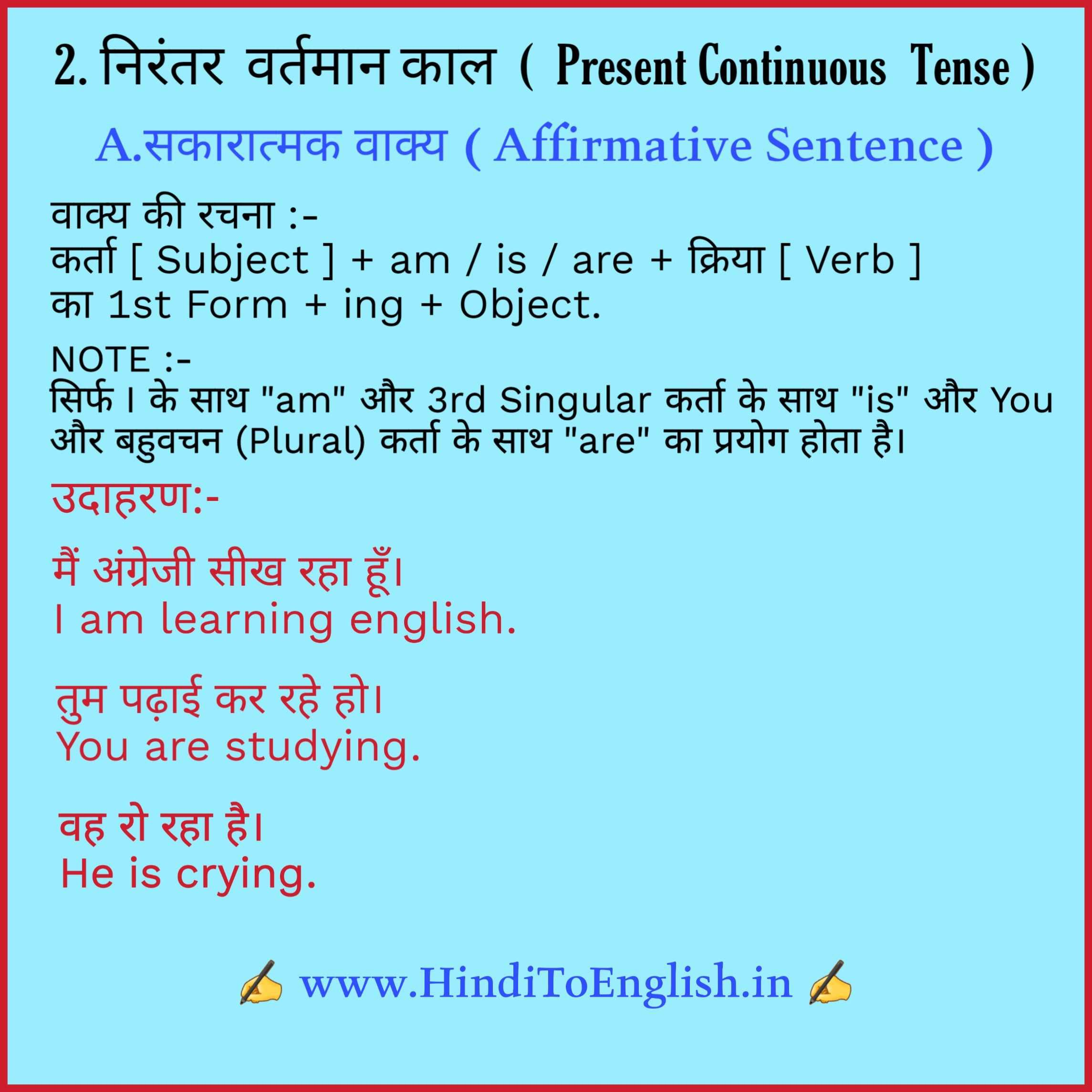 Tense In Hindi Tense In Hindi English Grammar Modals In Hindi English Vocabulary Words Learn English Vocabulary Learn English Grammar [ 2289 x 2289 Pixel ]