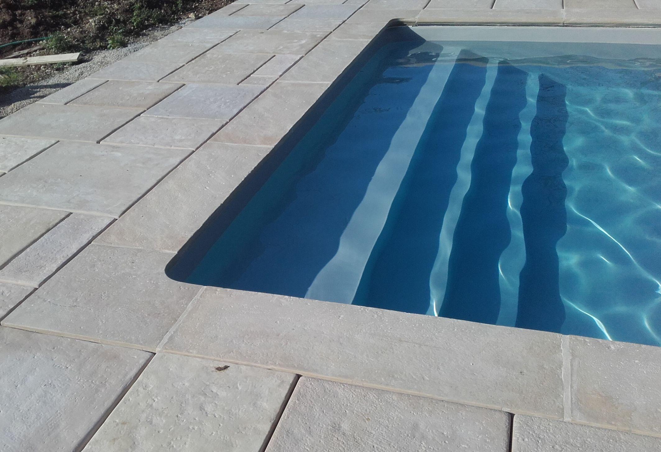 Margelle De Piscine En Béton Préfabriqué Modèle Abbatiale - Modele de piscine en beton