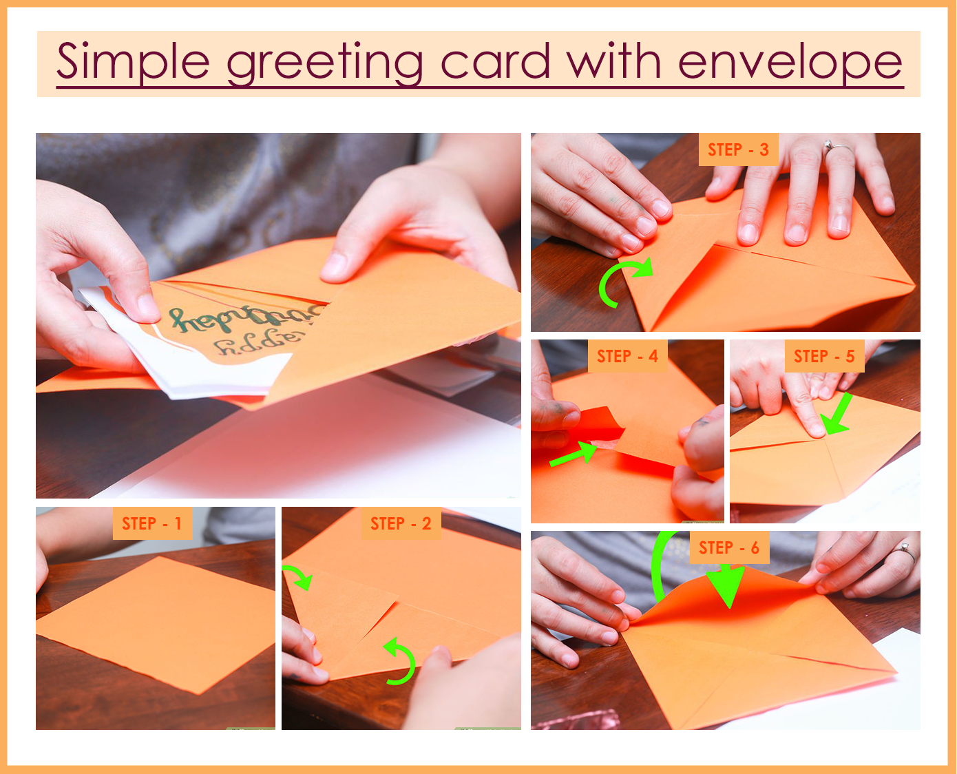 Simple greeting card with envelope crafts pinterest holiday 65 unique handmade greeting card tutorials you would surely love to create m4hsunfo