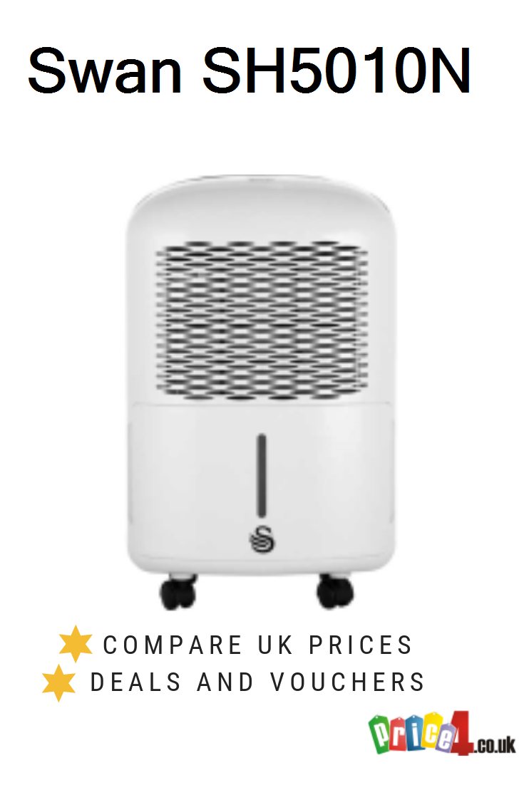 Swan Sh5010n Uk Prices Dehumidifier By Swan Compact Portable Powerful 10 Litre Per Day Continuous Dehumidification Conti Swan Dehumidifiers