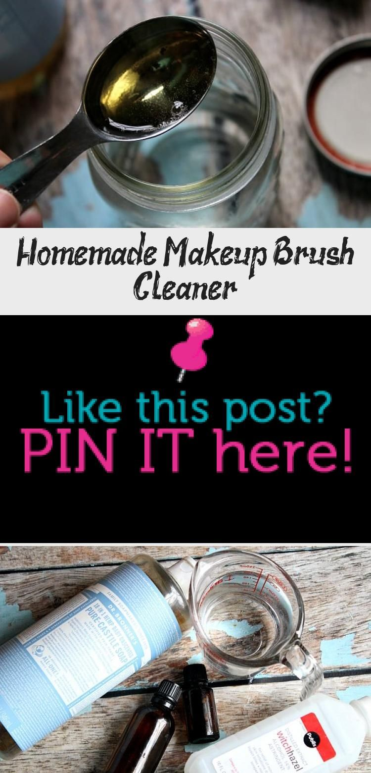 Photo of Homemade Makeup Brush Cleaner – Beauty İdeas