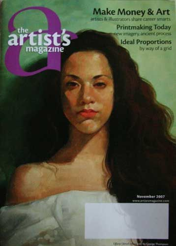 Artists magazines -- USA Artist's magazine. Image ©2007 Marion Boddy-Evans Licensed to About.com Inc