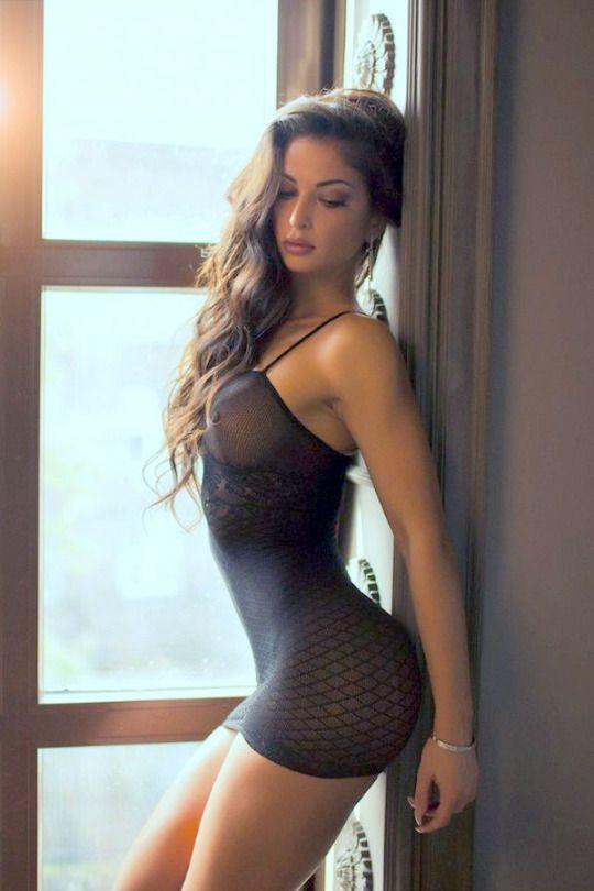 from Milo naked honeys hot brunette girls