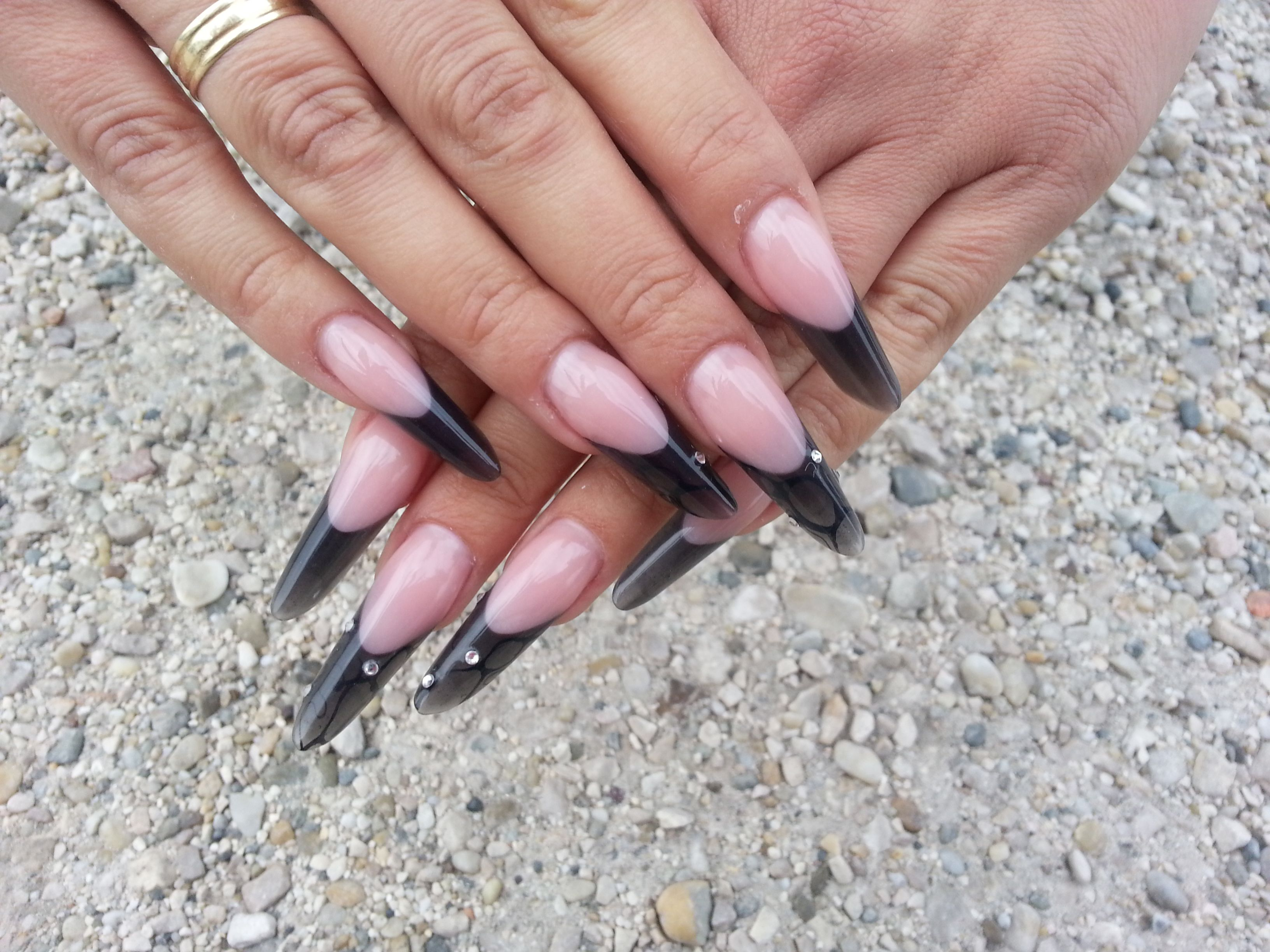 nails #Crystalnails #Nägel #Color Gel #nagelstudio #nailart #Muster ...