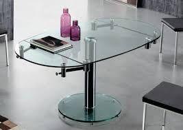 Resultado de imagen para mesa comedor cristal extensible ...