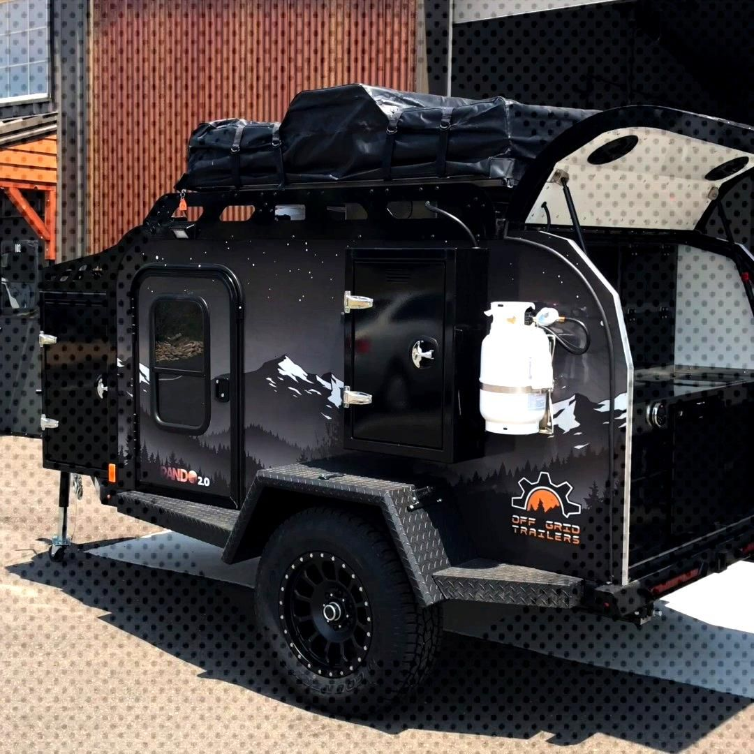 Pando 2.0 by Off Grid Trailers This one will be ready to go in a couple of weeks.