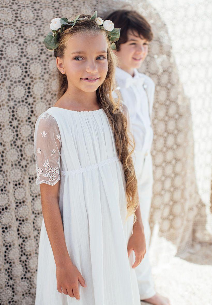 a40b484ca8d10 Robe bohème longue Fille et Bébé de Cérémonie et Mariage | Kids ...