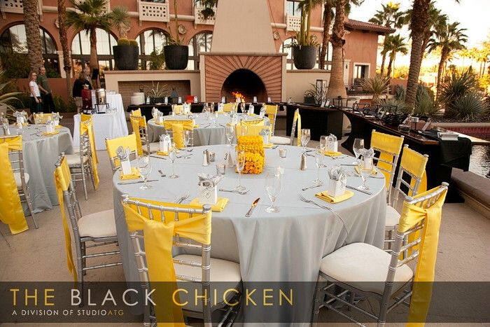 Table Decor Yellow And Grey Yellow Grey Weddings Yellow Wedding Inspiration Yellow Wedding Theme