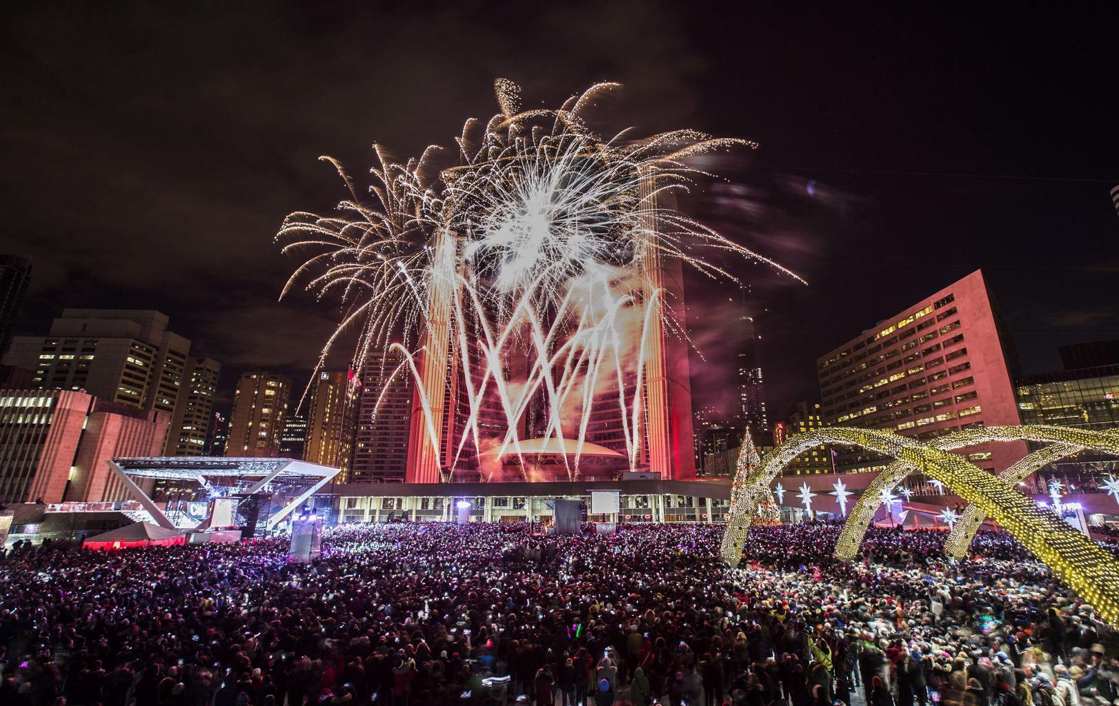 Ushering in the new year around the globe Yahoo News