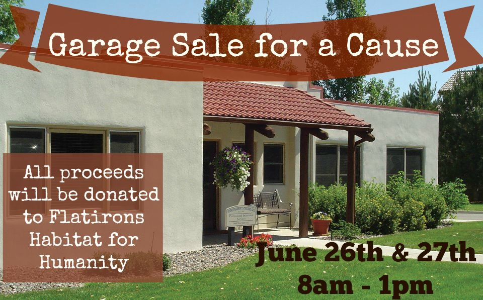 Garage sale for a cause outdoor structures garage