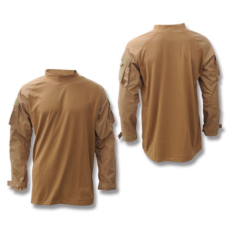 coyote combat shirts | Voodoo Tactical™ Combat Shirt - Coyote - Medium